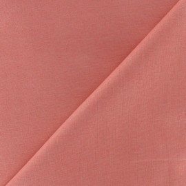Cotton Fabric - coral pink x 10cm