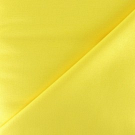 Tissu Coton uni - jaune x 10cm