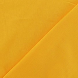 Cotton Fabric - gold yellow x 10cm
