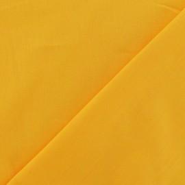 Tissu Coton uni - jaune bouton d'or x 10cm