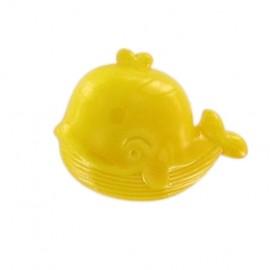 Bouton Baleine jaune
