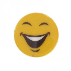 Bouton Smiley Funny