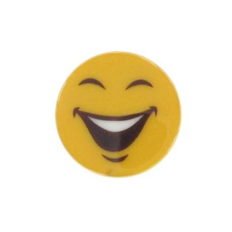 Bouton Smiley Funny