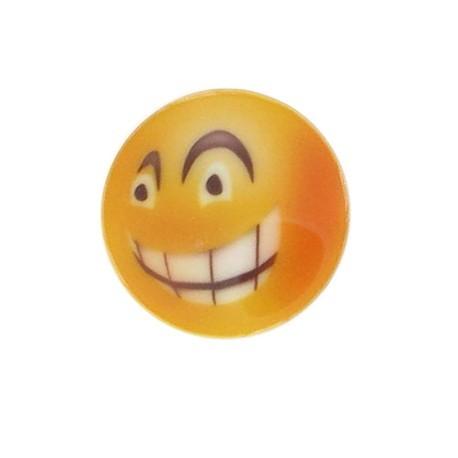 Bouton Smiley Angry