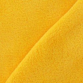 Baby's Security Blanket fabric - yellow x 10cm