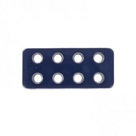 Bouton rectangle Lego marine