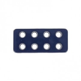 Button, Lego rectangle-shaped - navy blue