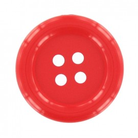 Bouton Clown rouge vif