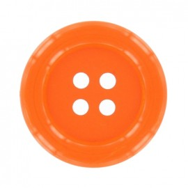 Bouton Clown orange vif