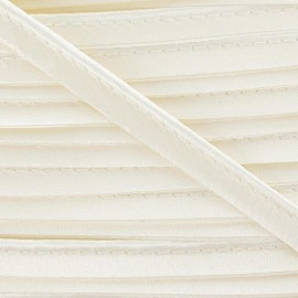 Satiny aspect Piping - Ivory