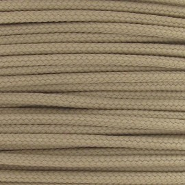 Cordon polyester 2mm beige