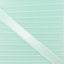 Satin ribbon - sea green