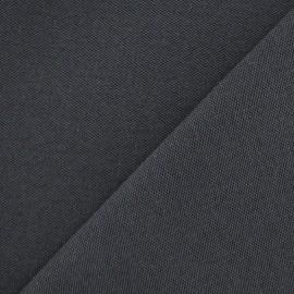 Canvas Fabric - Alberta Anthracite grey x 10cm