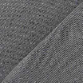 Tissu toile Alberta gris x 10cm