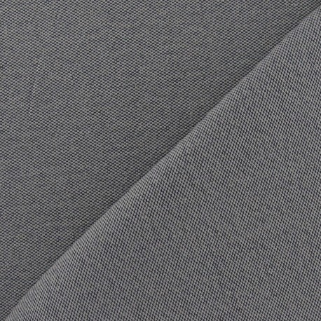 Canvas Fabric - Alberta grey x 10cm