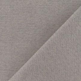 Tissu toile Alberta brun x 10cm