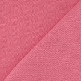 Tissu toile Alberta rose bonbon x 10cm