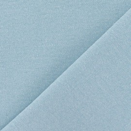 Canvas Fabric - Alberta cyan x 10cm