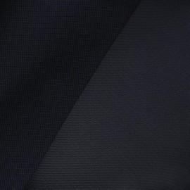 Tissu toile polyester marine x 10cm