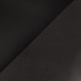 Toile polyester marron
