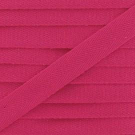 Ruban Sergé couleur 14mm fuchsia