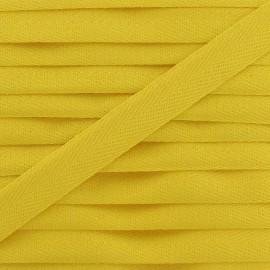 Ruban Sergé couleur 14mm jaune
