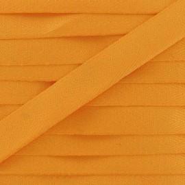 Ruban Sergé couleur 14mm mandarine