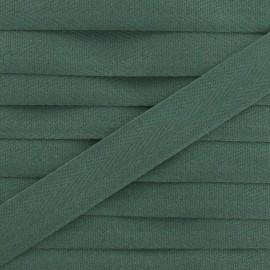 Ruban Sergé couleur 14mm vert pin