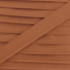 Ruban Sergé couleur auburn