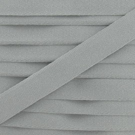 Twill ribbon - light grey