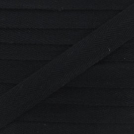 Twill ribbon - black