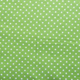 ♥ Only one piece 150 cm X 145 cm ♥ Little dots Fabric - Olive Green