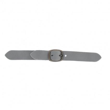 Patte Kilt cuir Lazy Gray V2 avec boucle