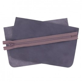 Kit grande pochette cuir Prown