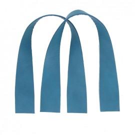 Rib bag-handles Caspio - blue