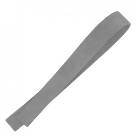 ♥ Leather strip bag-handles, Lazy Gray V2 - grey ♥