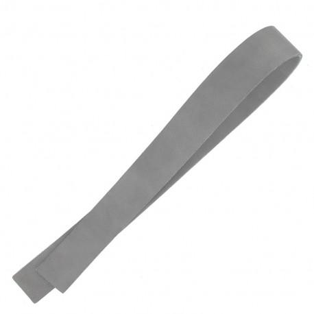 Leather strip bag-handles, Lazy Gray V2 - grey