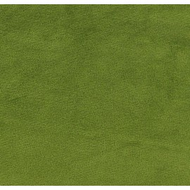 Jersey sponge velvet fabric - moss x 10cm