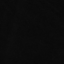 ♥ Coupon 40 cm X 148 cm ♥  Jersey sponge velvet fabric - black