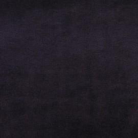 Tissu velours éponge jersey violet x 10cm