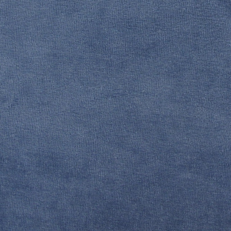 2858a82fcd0 Jersey sponge velvet fabric - blue grey x 10cm - Ma Petite Mercerie