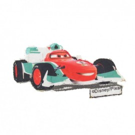 """Cars"" Francesco Bernoulli iron-on applique - red"