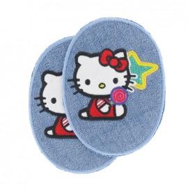 Coudières Genouillères Hello Kitty Etoile