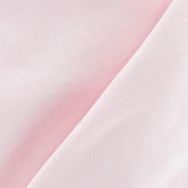 Tissu sweat rose x 10cm