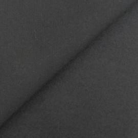Tissu sweat noir x 10cm