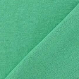 Tissu Viscose vert prairie x10cm