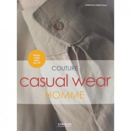"Livre ""Couture Casual Wear Homme"""