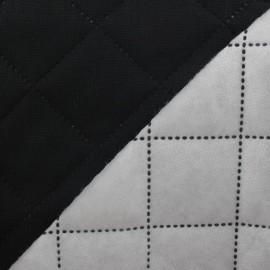 Tissu matelassé Husky noir x 10cm