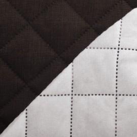 Tissu matelassé Husky marron x 10cm