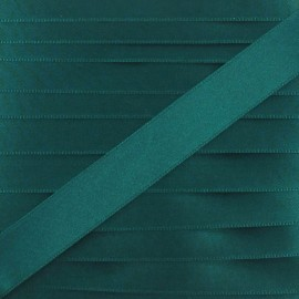 Satin ribbon - myrtle green